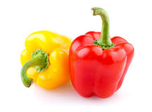 Two sweet pepper Royalty Free Stock Photography