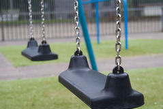 Two swings Royalty Free Stock Images