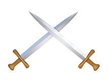 Two swords Stock Photography