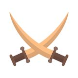 Two Swords Royalty Free Stock Photos