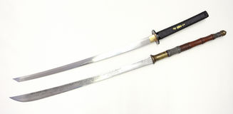 Two swords Stock Photos