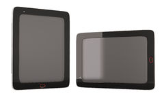 Two tablets Royalty Free Stock Photography
