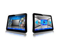 Two tablets 20.05.13 Royalty Free Stock Photo