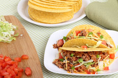 Two Tacos Stock Images