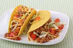 Two Tacos Royalty Free Stock Photo