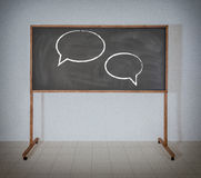 Two talk sign Stock Photo