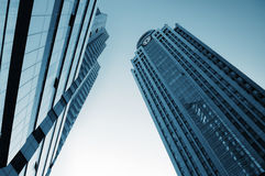 two Tall buildings royalty free stock image