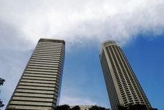 Two tall buildings Stock Image