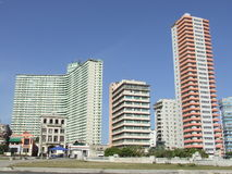 Two of the tallest buildings of Havana Royalty Free Stock Photo