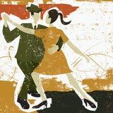 Two Tango Dancers Royalty Free Stock Photos