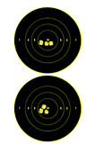 Two targets Stock Images