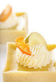 Two tarts Stock Images