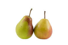 Two tasty pears Stock Photo
