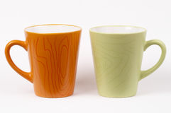 Two tea cups Stock Image