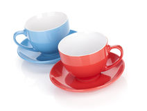 Two tea cups Royalty Free Stock Photo