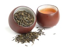 Two tea cups Stock Photo