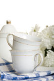 Two teacup Stock Image