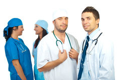 Two teams of doctors Stock Photos