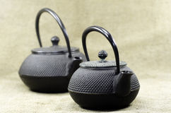 Two teapot Royalty Free Stock Photos
