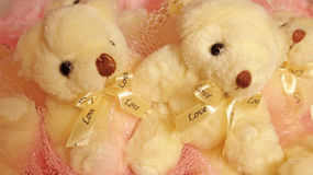 Two teddy Bear Stock Photography