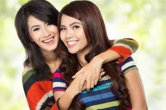 Two teenage girls Royalty Free Stock Photos