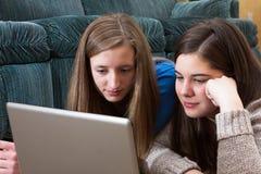 Teens study close up Stock Photo