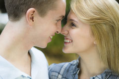 Two Teenagers Royalty Free Stock Photo