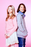 Two Teens Royalty Free Stock Images