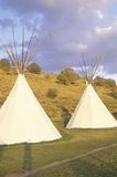 Two teepees in Aspen, CO Stock Photos