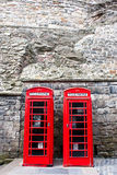 Two telephones Stock Image