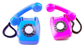 Two telephones Royalty Free Stock Images
