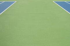 Two tennis courts Royalty Free Stock Photos