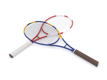 Two tennis rackets Stock Images