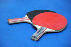 Two tennis rackets Royalty Free Stock Photography