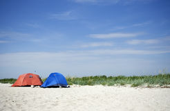 Two tents Royalty Free Stock Photos