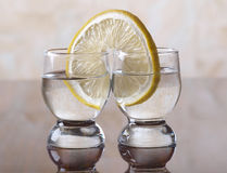 Two tequila Stock Photo
