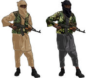 Two Terrorists Stock Image