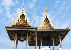 Two thai sheds Royalty Free Stock Photos