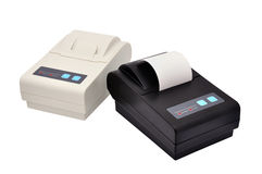 Two thermal printer Royalty Free Stock Photography