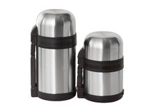 Two thermos Stock Photography