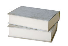 Two thick books Stock Photo