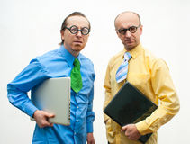 Thoughtful businessmen Royalty Free Stock Photography