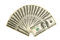 Two thousand american dollars Royalty Free Stock Photo