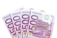 Two thousand euros Stock Photography