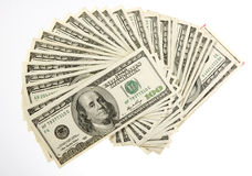 Two Thousand Five Hundred Bills Royalty Free Stock Images