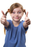 Two thumbs Up! Royalty Free Stock Images