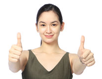 Two Thumbs Up! Royalty Free Stock Photography