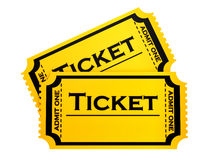 Two tickets Stock Photos