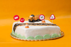 Truck Driver Birthday Cake Stock Images