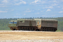 Two-tier tracked all-terrain vehicle Royalty Free Stock Photography